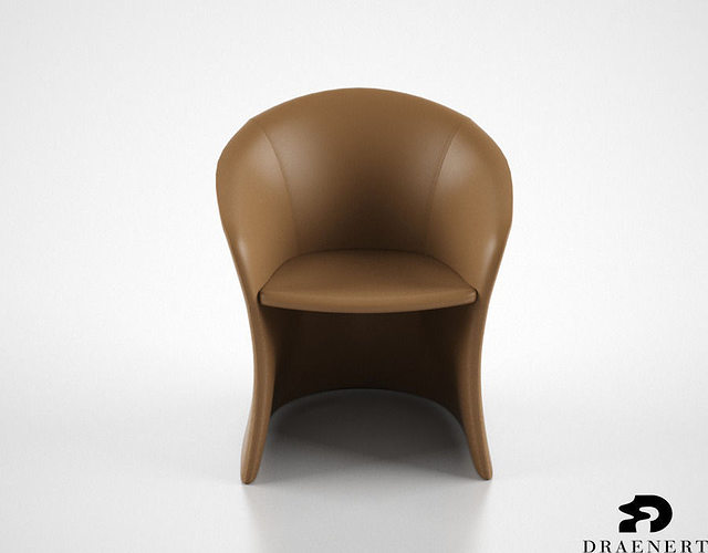 draenert calla chair 3d model max obj mtl fbx 1