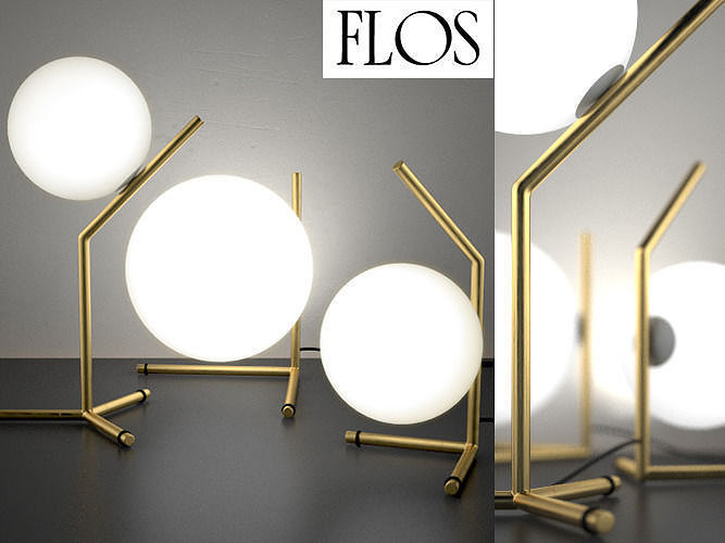 Ic lights table series by flos 3d model cgtrader - Ic lights flos ...