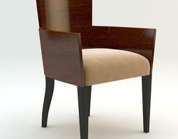 3D Simple armchair