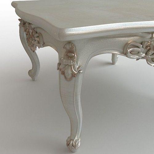 Baroque Coffee Table 3d Model Max Obj 3ds Fbx Mtl 2
