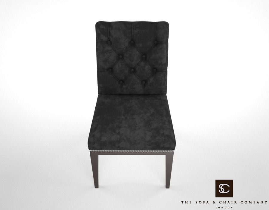 ... The Sofa And Chair Company Lucas Dining Chair 3d Model Max Obj Fbx Mtl  2 ...