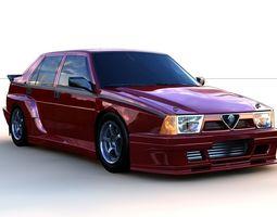 Alfa Romeo 75 Imsa 3D