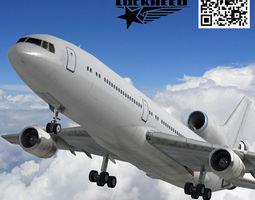 Lockheed L-1011 TriStar 3D asset