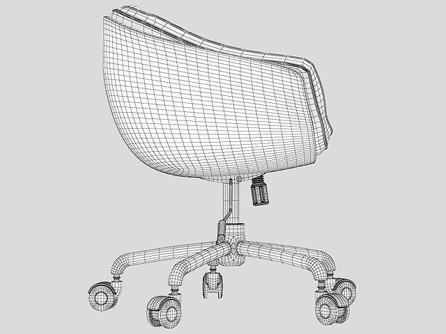 Swivel Chair Free 3d Model Max Obj Mtl Cgtrader Com