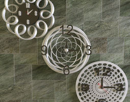 3D model Modern Wall Clocks