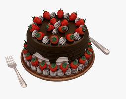 3D model Cake 001