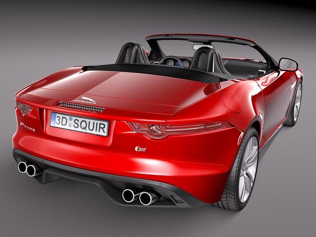jaguar f type convertible 2014 3d model max obj 3ds fbx c4d lwo lw lws. Cars Review. Best American Auto & Cars Review