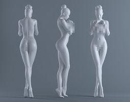 3D printable model Female body