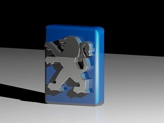Peugeot Cars Logo 3D printable model | CGTrader