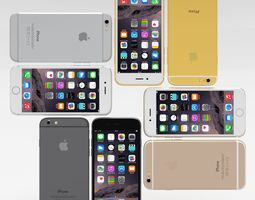 iPhone 6 All Pack 3D Model