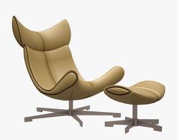 3d model imola armchair boconcept realtime
