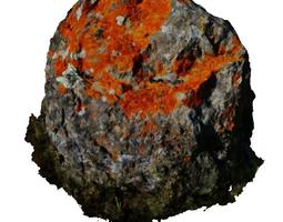 3d model magic stone - hd scan