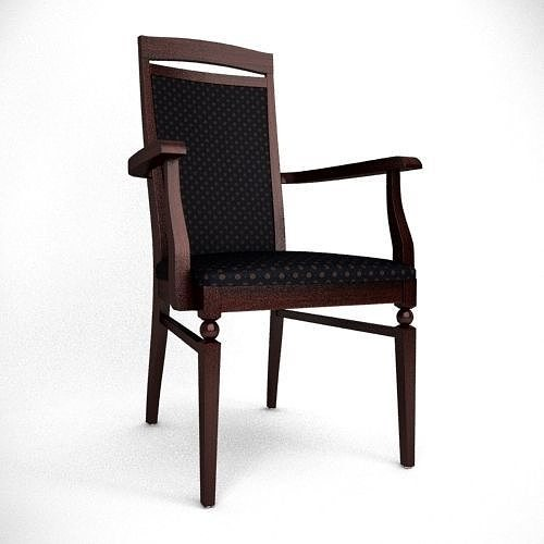 Bawaria Dining Chair free 3D Model MAX OBJ 3DS FBX MTL  : bawaria dining chair 3d model max obj 3ds fbx from www.cgtrader.com size 500 x 500 jpeg 20kB