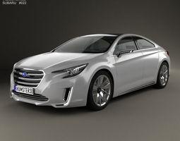 3D Subaru Legacy Concept 2015