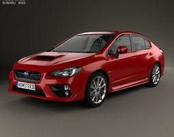 3D model Subaru WRX 2014