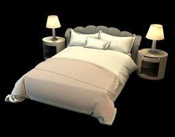 noel jeffrey bedroom set 3d model