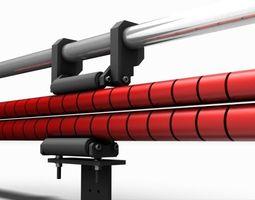 Shaft Anti-Bending System 3D model