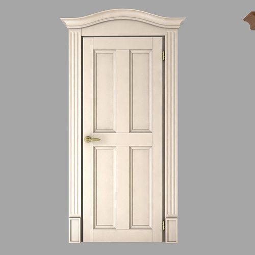 ... classic doors collection 3d model max obj 3ds fbx mtl 3 ... & Classic Doors Collection 3D model   CGTrader