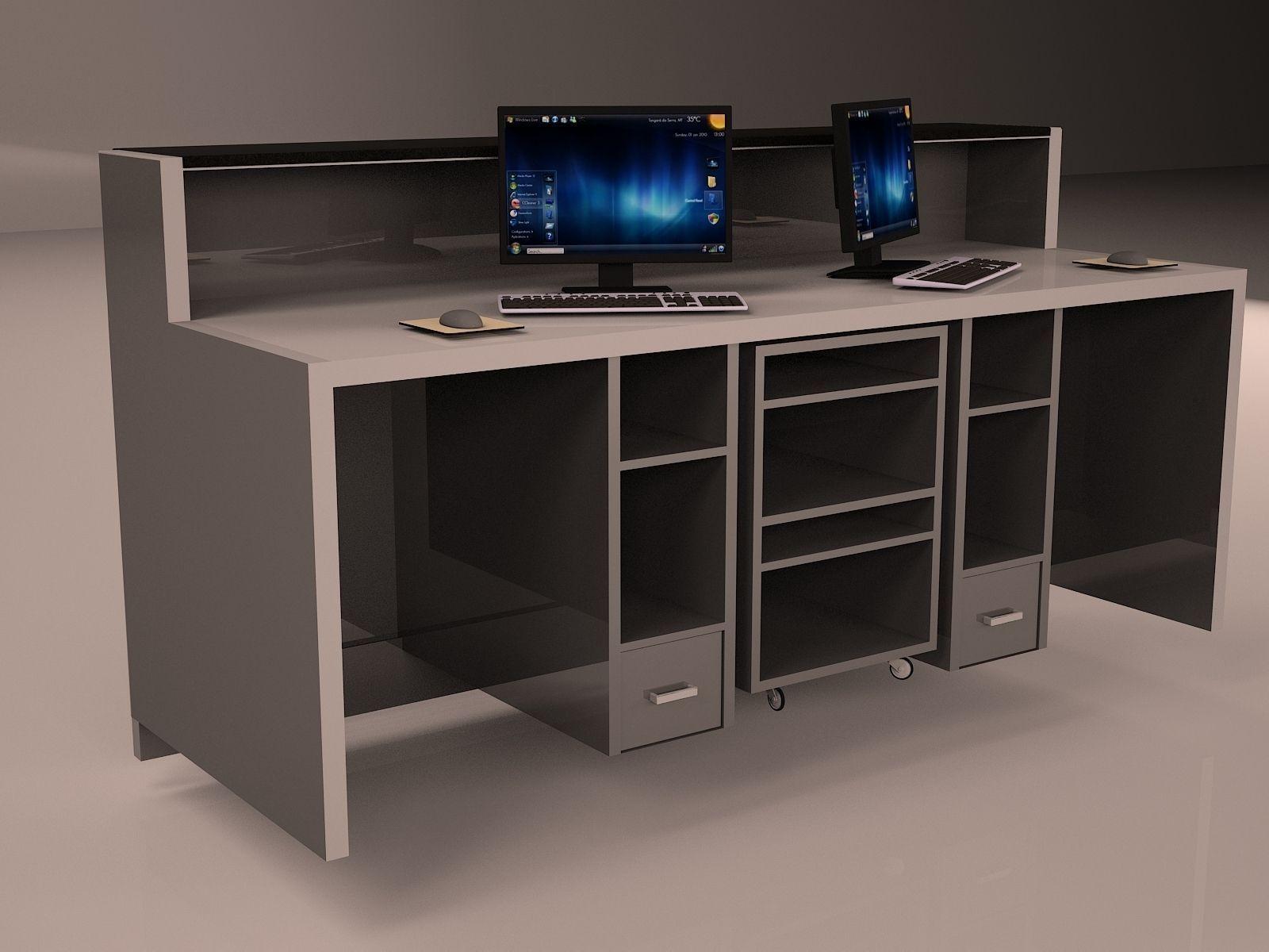 Check In Desk Model Max 1