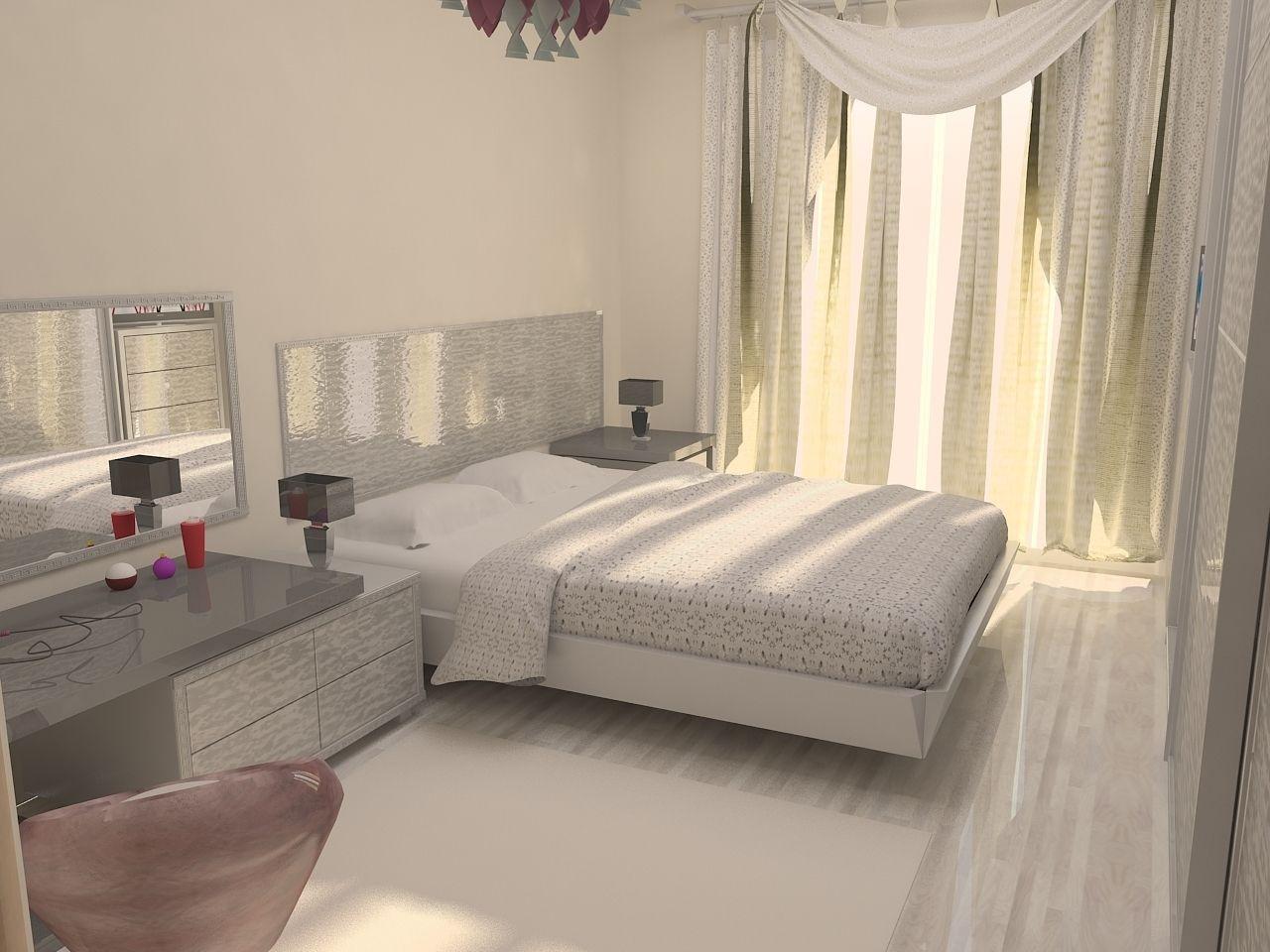 Bedroom design 3D Model MAX   CGTrader.com on Model Bedroom Design  id=16015