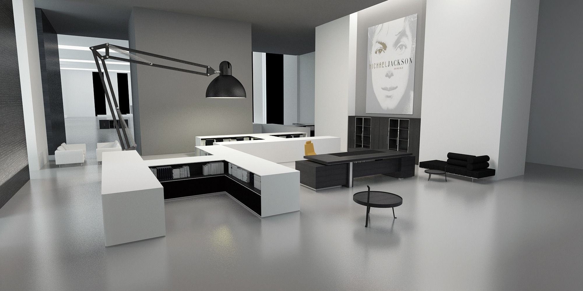 Modern Office Interior commercial 3D model | CGTrader