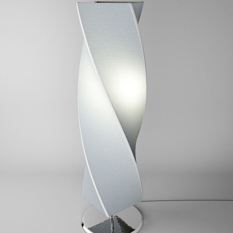 Twisted floor lamp 3d model max obj 3ds fbx cgtradercom for Floor lamp 3ds max free model