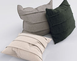 Pillow 3D architectural