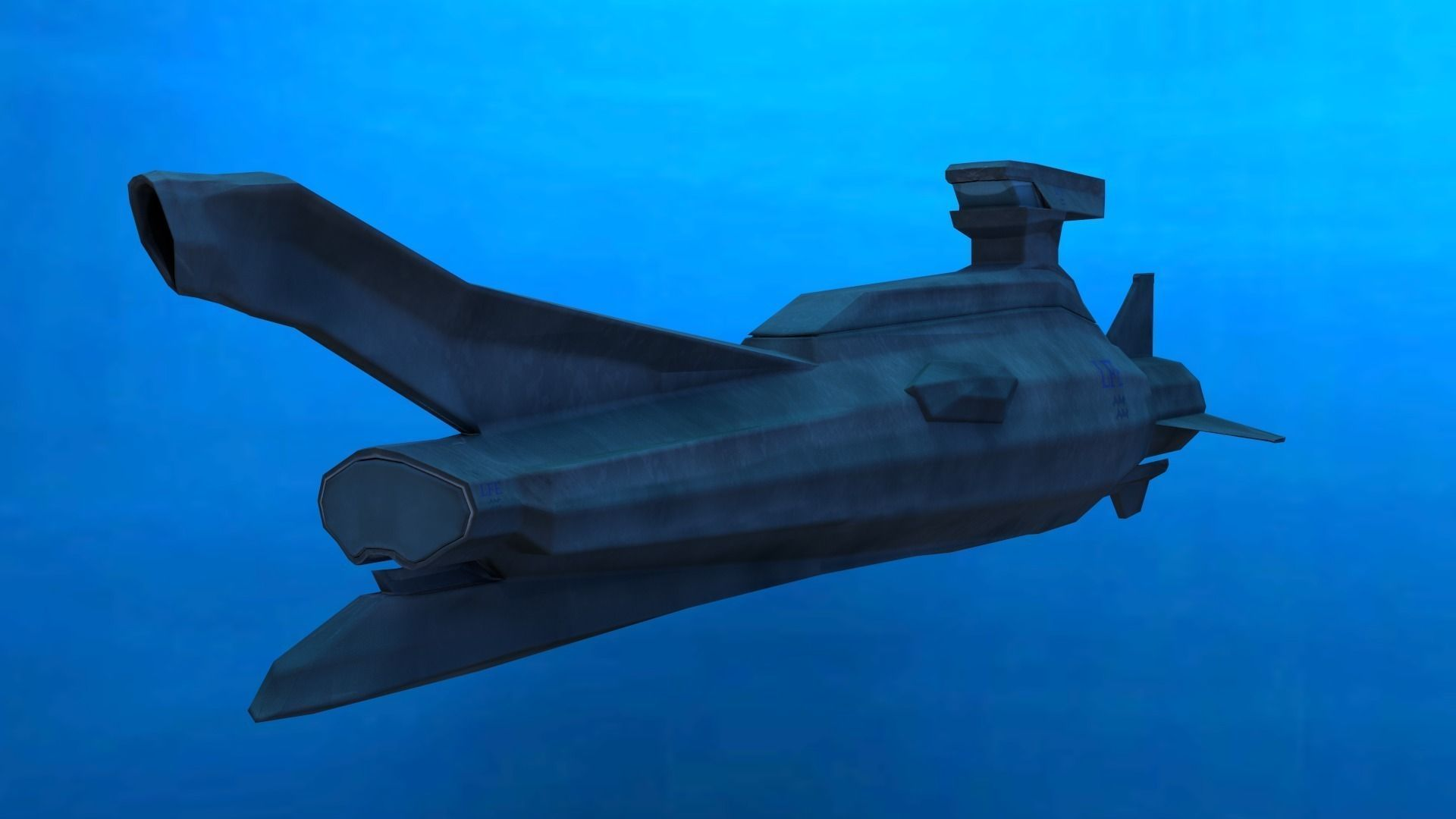 Original Sci-fi Submarine