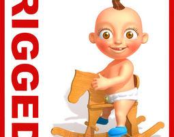 3D Baby Jake Cartoon Rigged