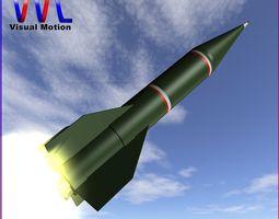 3D Shahin I Rocket