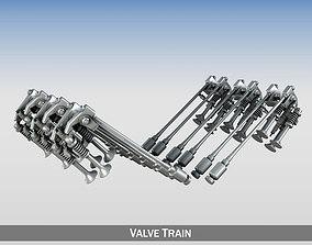 3D model Valve Train