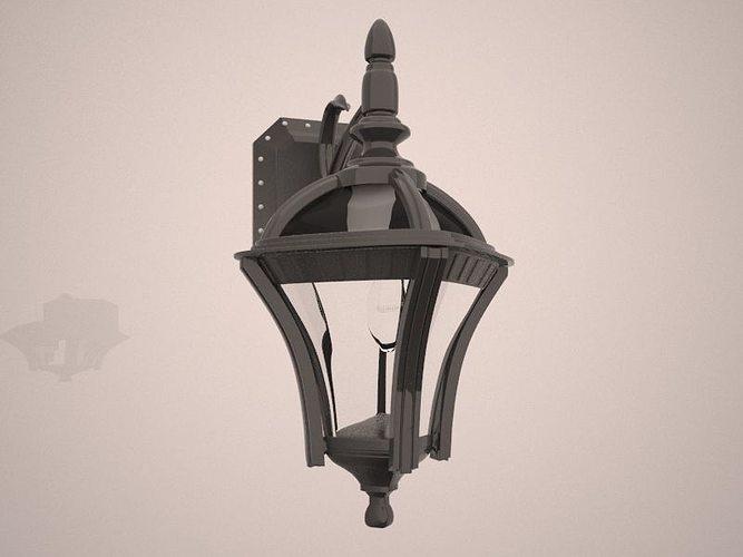 3d Wall Lamp Dwg : Wall Light free 3D Model MAX OBJ FBX MTL CGTrader.com