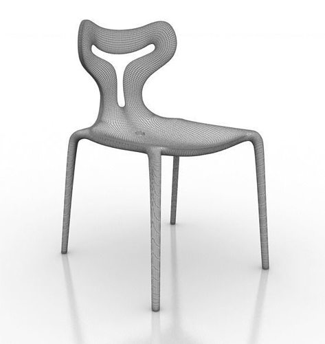 Calligaris Area51 Chair 3d model | CGTrader
