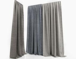3D model Curtains curtains