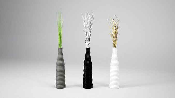 Vp Deco Vase 3d Cgtrader