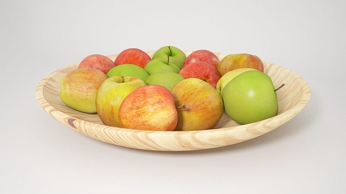 vp apples 3d model max 1