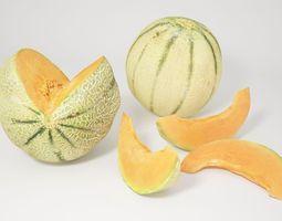 3D VP Cantaloupe melon