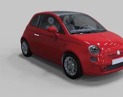 Fiat 500 3D