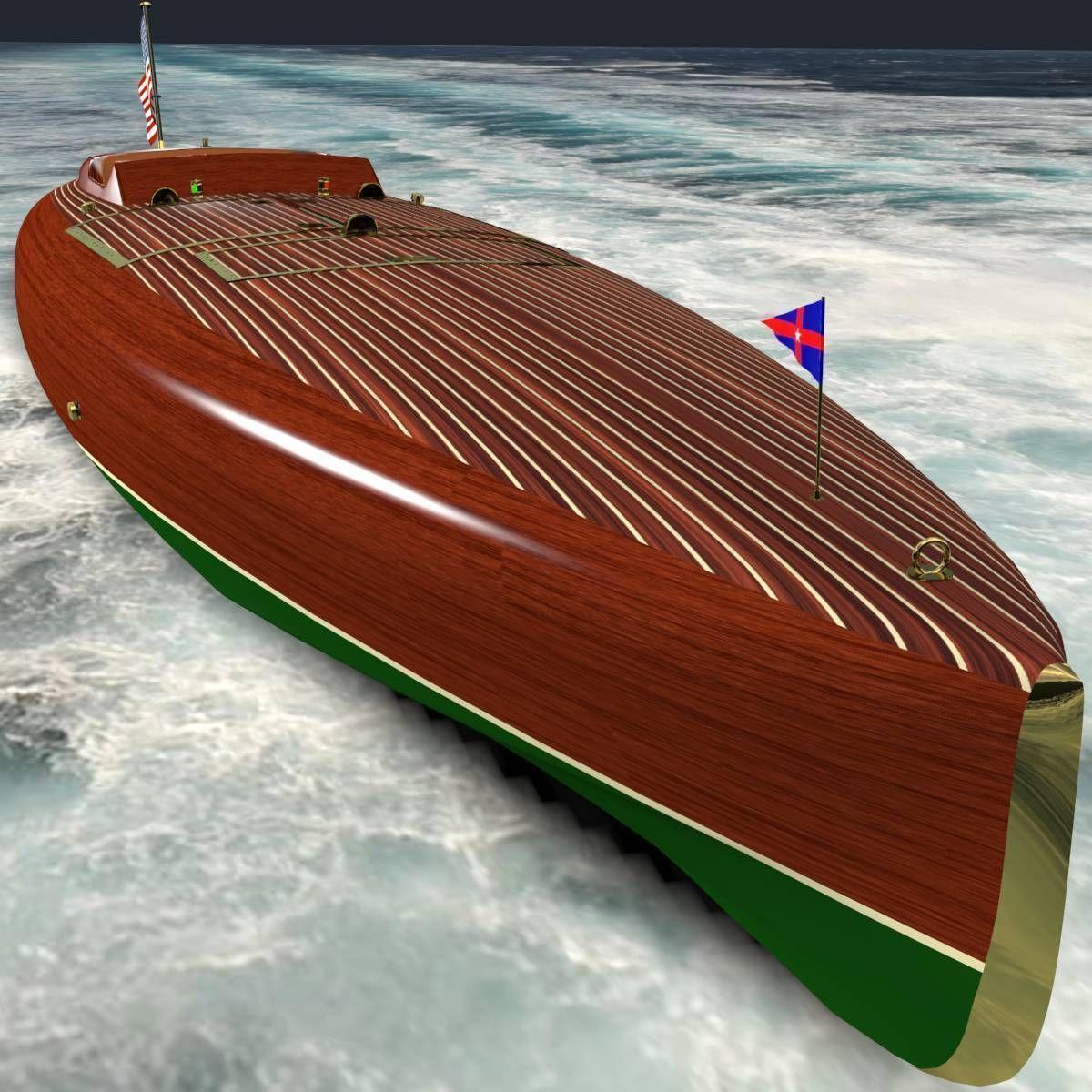Baby Bootlegger G5 Speed Boat