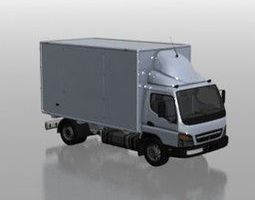 3D Car Mitsubishi Fuso Medium N080211