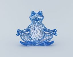 Free Frog Model 3D