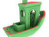3dbenchy - the jolly 3d printing torture-test 3d model stl 6