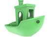 3dbenchy - the jolly 3d printing torture-test 3d model stl 5