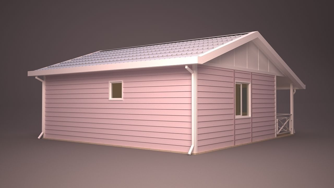 Home 10 3d model max obj 3ds fbx ma mb dwg for Home 3d model