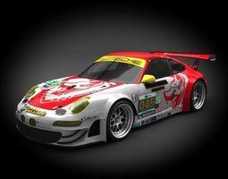Porsche 911 GT3-RSR 2011 3D model