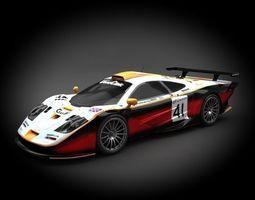 McLaren F1 GTR Racing 1997 3D model