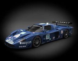 Maserati Risi Competizione MC12 2006 3D Model