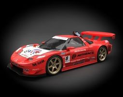 3d model honda nsx racing 2006