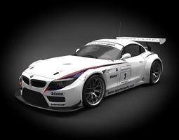 BMW Z4 GT3 2012 3D Model