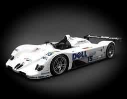 BMW V12 LMR 1999 3D Model